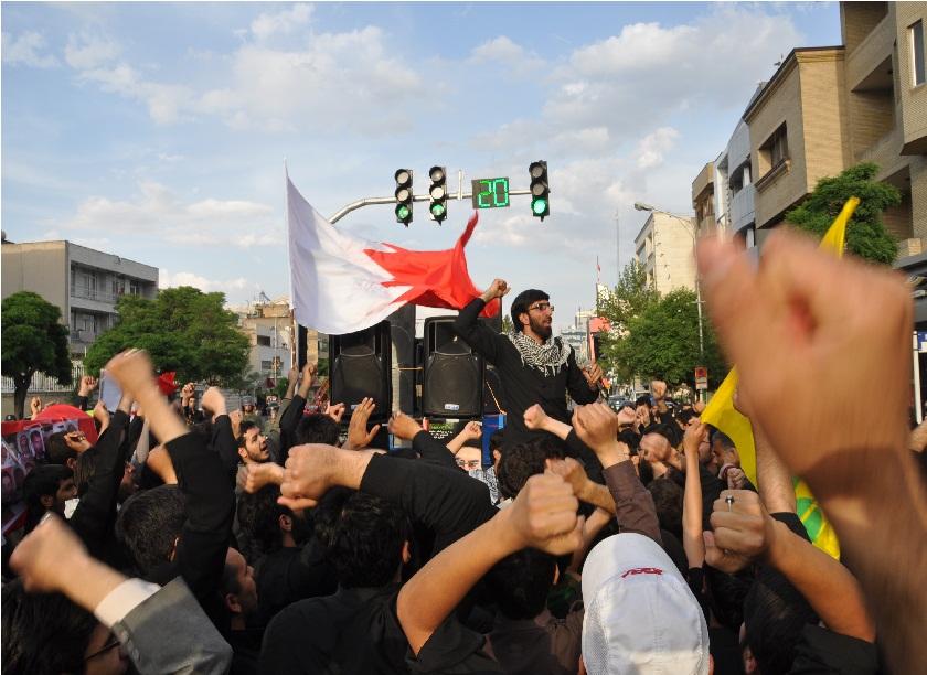 حمید استاد در جمع انصار حزب الله