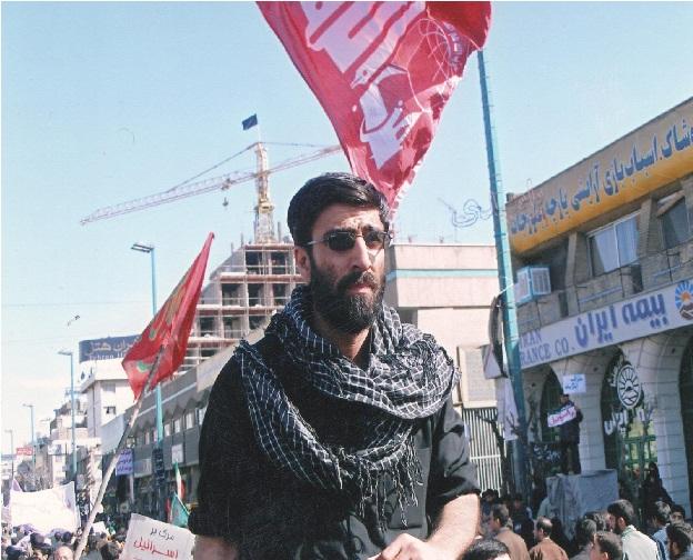 حمید استاد در تجمع انصار حزب الله